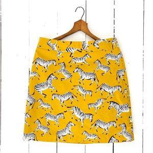 🆕Listing! Ann Taylor zebra pencil skirt